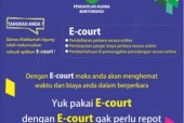 E-COURT,  ERA DIGITALISASI PENGADILAN DI INDONESIA